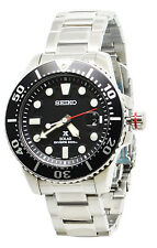Seiko Prospex Solar SNE437 Black Dial Stainless Steel Men's Watch