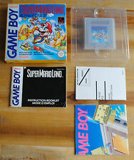 Jeu SUPER MARIO LAND Complet avec boite d'origine pour Nintendo Game Boy