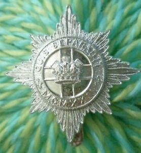 Staybrite 4th/7th Royal Dragoon Guards Cap Badge Anodised Slider maker BL &B