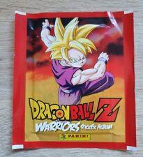 Panini 1 Tüte Dragonball Z Warriors Bustina Pack Pochette Bola de Drac Dragon V1