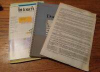 001 Vintage DocuComp Advanced Software INC Manual & 3.5 Floppy Disc In Touch