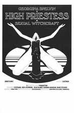 High Priestess Of SExual Witchcraft Poster 02 Metal Sign A4 12x8 Aluminium
