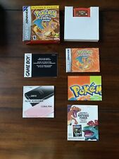 Pokemon: FireRed Version Game Boy Advance GBA Complete Authentic Box Saves CIB
