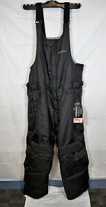 Cortech Journey 2.1 Snowmobile Bib Black Men's Size XL X-Large 8932140507 New