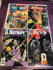 BATMAN DC COMICS 1980s-90s 1ST SERIES/APPEARANCES NEWSSTAND VARIANT JOKER CHOOSE