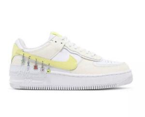 "Nike Air Force 1 Shadow SE ""Have A Nike Day"" Pale Ivory DJ5197-100 Womens Sz 9"