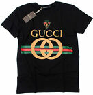 Gucci Nwt Short Sleeve %100 Cotton Men's Graphic Nwt  Shirt Size : M L XL