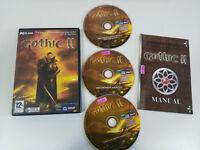 GOTHIC II PC ESPAÑOL 3 X CD-ROM JOWOOD PRODUCTIONS ESPAÑOL