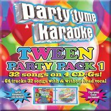 Party Tyme Karaoke: Tween Party Pack, Vol. 1 [5/13] by Karaoke (CD May-2014) NEW