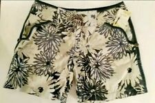 Free People Womens Size 10 Shorts High Waisted Tie Floral Tropical Print