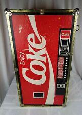 Rare Coca Cola Coke Seward Trunk Footlocker  1990 chest case loved red black