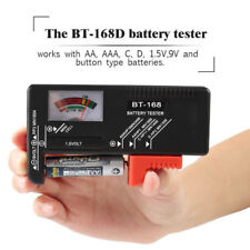 Universal Digital LCD Battery Checker Volt Tester Cell AA AAA C D 9V 1.5V BT-168