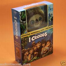 I CROODS DVD + PELUCHE Edizione Speciale Dreamworks nuovo