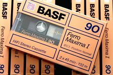BASF FERRO MAXIMA I 90 NORMAL POSITION TYPE I BLANK AUDIO CASSETTE - 1988