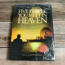BRAND NEW! The Five People You Meet in Heaven DVD 2004 Jon Voight Mitch Albom