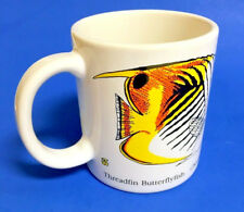 SF San Francisco The Academy Store Marine Fish Mug Cup 1988  by Pedro Gonzalez