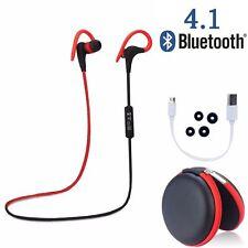 Wireless Sports Stereo Bluetooth 4.1 Earphone Headphone Earbuds Headse