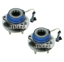 Pair Set of 2 Front Timken Wheel Bearing & Hub Kit for Buick Cadillac Chevy FWD