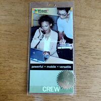 Microsoft Windows XP Tablet edition launch pass. Crew.