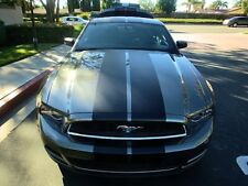 """2011 2012 2013 2014 Ford MUSTANG 10"""" Racing Vinyl Stripe Graphic Decal 40 FT."""