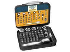 "STANLEY SWEETHEART 39 Pc 1/4"" Sq Mini Ratchet,Socket/Screwdriver Bit Set, 182834"