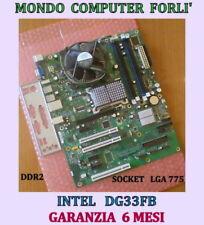 SCHEDA MADRE SOCKET 775 INTEL DG33FB + CPU INTEL CORE 2 DUO E7300+ 4 Gb Ram DDR2