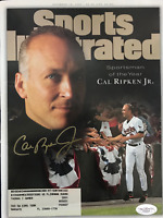 Cal Ripken Jr. Signed Sports Illustrated Magazine December 18 1995 (JSA)