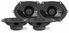 "(2 Pairs) Rockford Fosgate P1572 5x7"" 2-Way Coaxial Car Audio Speakers Package"