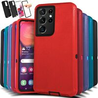 For Samsung Galaxy S21 21+ Ultra Shockproof Protective Rugged Hard Case Cover