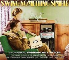 Swing Something Simple - 75 Original Swinging Hits 3CD NEW/SEALED