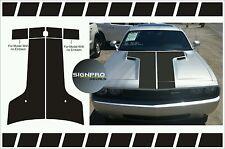 Dodge Challenger Hood Decal Stripes 2008-14 Sport Blackout Fader Challenge