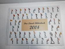Das LINEOL Fotoalbum 2004 PER LINEOL 7.5cm soldati Wehrmacht + AUSLÄNDER