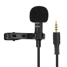 GOLD TRRS MICROPHONE FOR IPHONE IPOD SMARTPHONE RECORD CLEAR QUALITY VIDEO SOUND