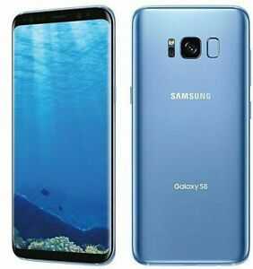 NEW IN BOX Samsung Galaxy S8 SM-G950U1 - 64GB - Blue - Factory Unlocked GSM+CDMA
