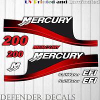 200 hp mercury 2 st outboard efi , long shaft oil injection warranty