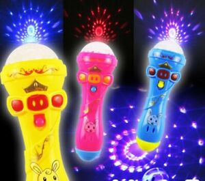 Baby Toy Funny Lighting Wireless Music Karaoke Toys For Kids Gift