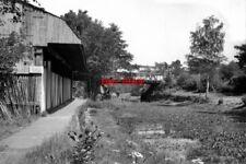 PHOTO  1973 HAMPSHIRE ASH VALE RAILWAY BRIDGE AND ASH WHARF BASINGSTOKE CANAL TH