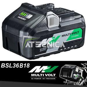 Batteria originale 8Ah Hitachi Hikoki al litio multi volt 18V-36V BSL36B18