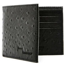 Brand New Genuine Leather Mens Wallets Credit Card Holder For Men RFID Blocking