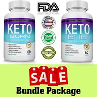 SALE Keto Diet Pills Best Ketosis Weight Loss Supplements To Burn Fat Bundle