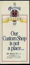 1997 CF Martin Guitar Custom Shop Brochure Inlays Patterns Fingerboards & More