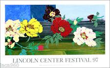 Robert KUSHNER Linwood Lincoln Center Festival 1997 Silkscreen Poster