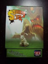 SQUISH EM CARD BOARD Game By TIKI EDITIONS UNPLAYED
