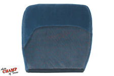 1995 1996 1997 F350 XLT Crew-Cab 7.3L Diesel-Driver Bottom Cloth Seat Cover Blue
