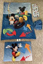 Disney 4-Piece Mickey Mouse Clubhouse Toddler Bedding Sheet Comforter Pillowcase