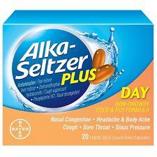 Alka-Seltzer Plus Day Cold and Flu Liquid Gels 20 ea