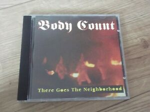 BODY COUNT - THERE GOES... LIVE IN USA 1992 CD MTM 017 RAP HIP HOP METAL