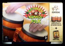 DONKEY KONGA PAK - BONGHI + GIOCO INCLUSO BRAND NEW SEALED NUOVO MAI APERTO