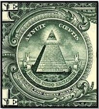 EYE OF THE ILLUMINATI, Conspiracy Theory / Truth, on plain DVD-R