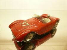 DINKY TOYS 22A MASERATI RACE CAR #37 - RED 1:43 - GOOD CONDITION